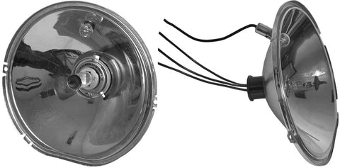 HR12-H | 1937 Car Headlight Reflectors (12-Volt Halogen Bulbs)