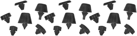 HB16 | 1942-48 Hood Top Bumpers (Set of 12)