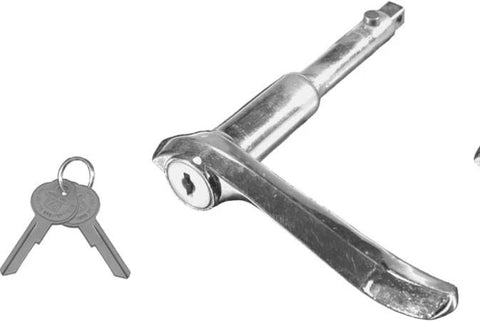 OH02-L | 1931-32 Outside Locking Door Handle w/Keys