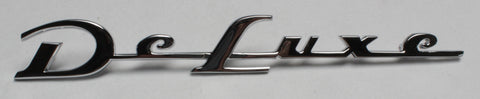 "RE52-D | 1952 Chevrolet Rear Quarter Emblems ""Deluxe"""