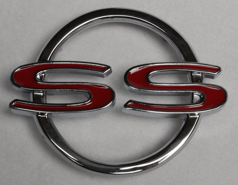 "RE64-IS | 1964 Impala Rear Quarter Panel Emblems ""SS"""