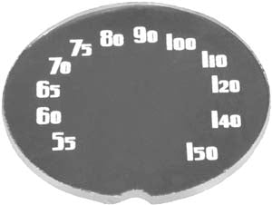 RG11 | 1938 Radio Glass Insert