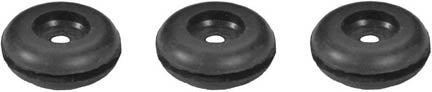 RS16 | 1930-31 Radiator Shell Grommets (set of 3)