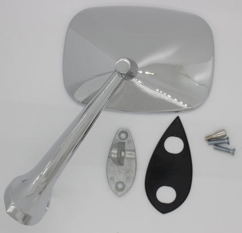 SM68-VLS | 1968-79 Corvette Exterior Mirror Assembly - Driver, Small
