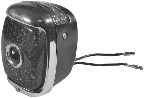 TL03-D | 1937-38 Taillight Housing With Rim (Driver Side)