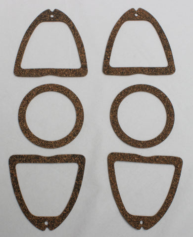 TL53-G | 1953 Chevrolet Tail Light Lens Gasket Set