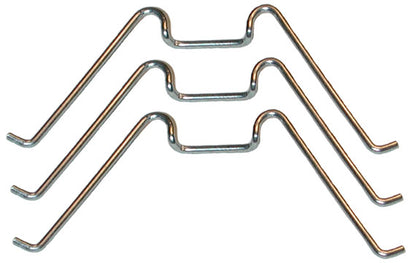 HG01-C | 1931-35/1940-41/1949-55 Headlight Glass Spring Clips - Set of 6 (1940-55 Truck)