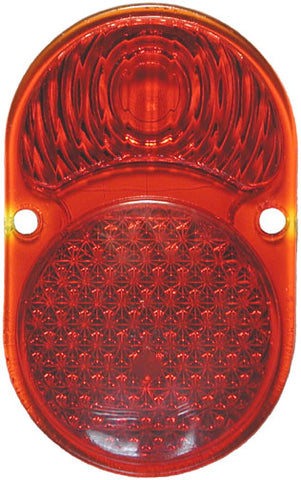 TL06 | 1925-30 Taillight Lens Glass (Plain)