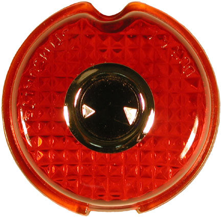 TL10-B | 1939 Taillight Lens Glass (w/Blue Dot)