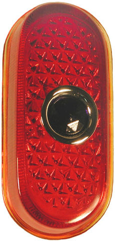 TL11-B | 1940 Taillight Lens Glass (w/Blue Dot)