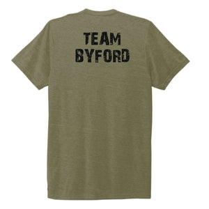 TEAM BYFORD | Recycled Tri-Blend T-Shirt