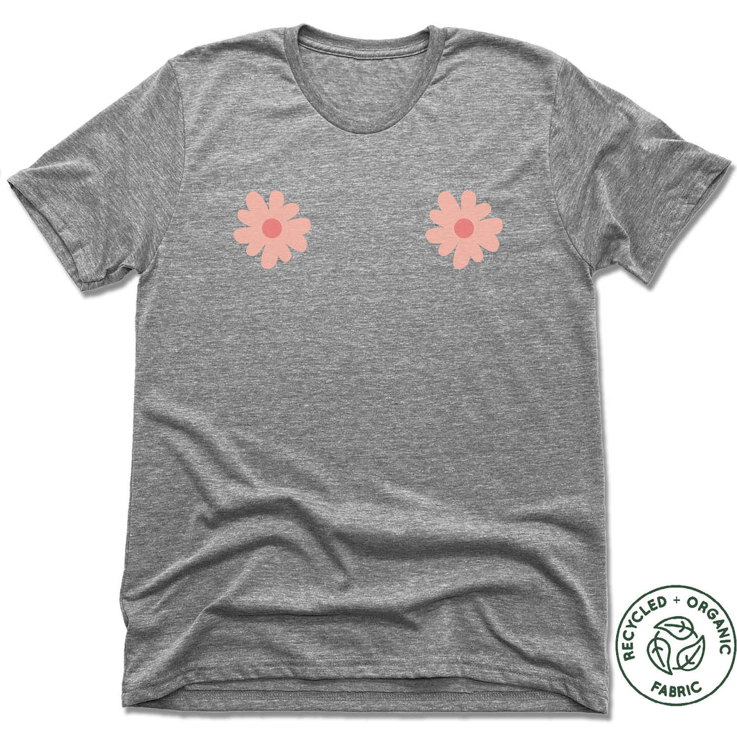 UNISEX GRAY Recycled Tri-Blend | LOGO