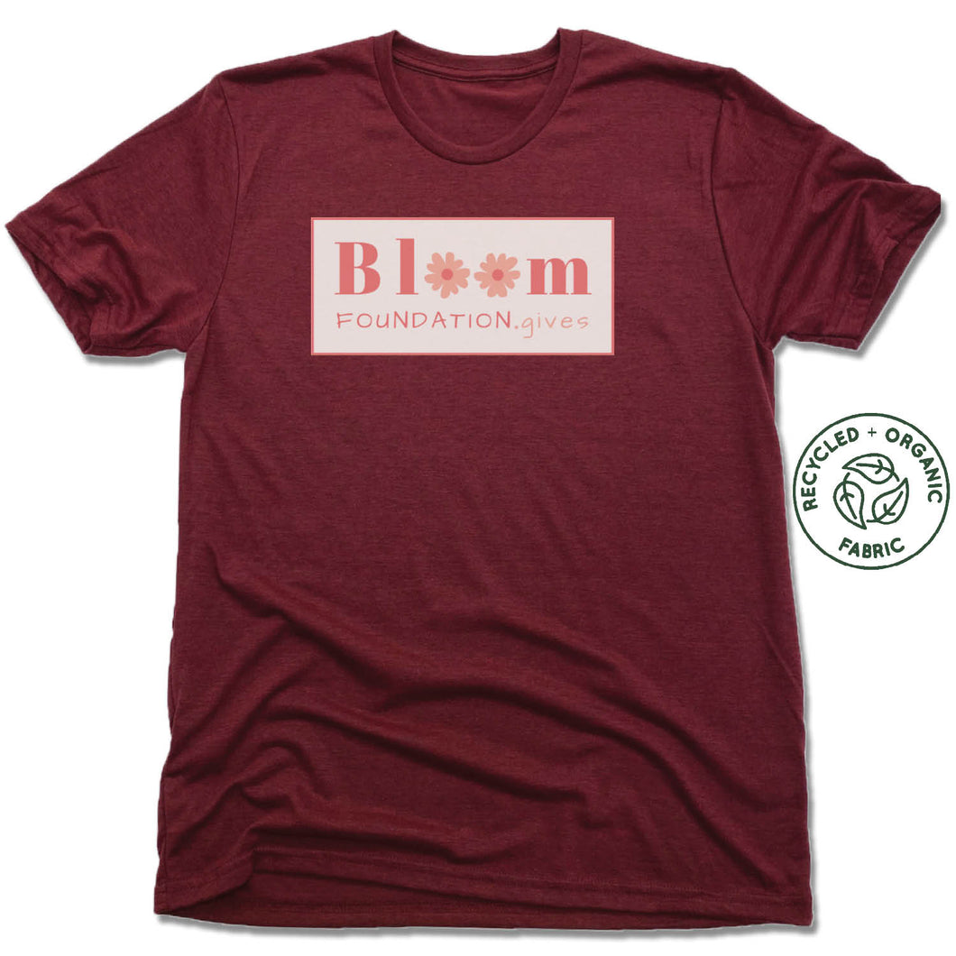 UNISEX VINO RED Recycled Tri-Blend | BLOOM