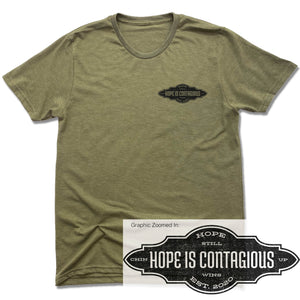 Hope is Contagious - Olive Green