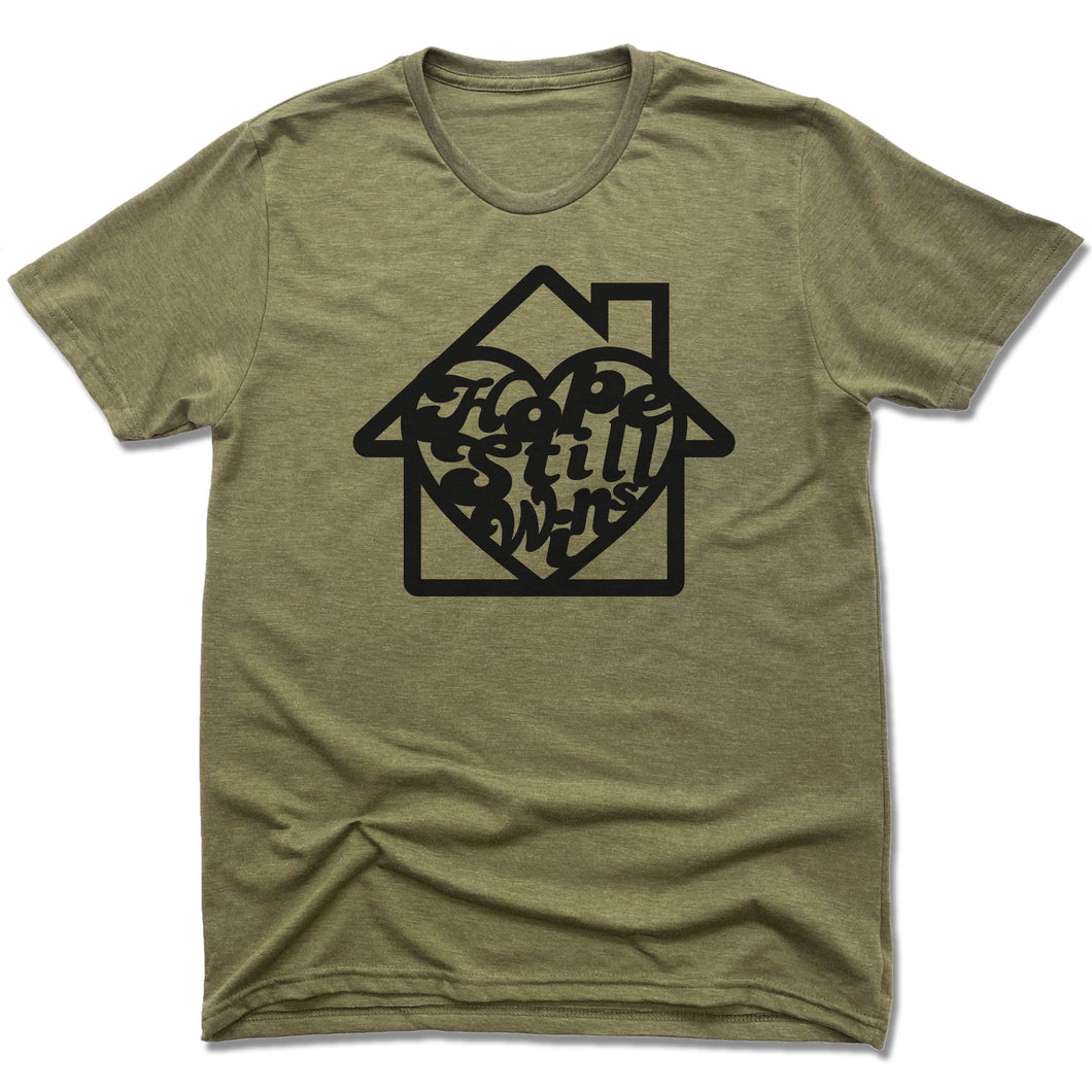 Hope Still Wins Retro - Olive Green