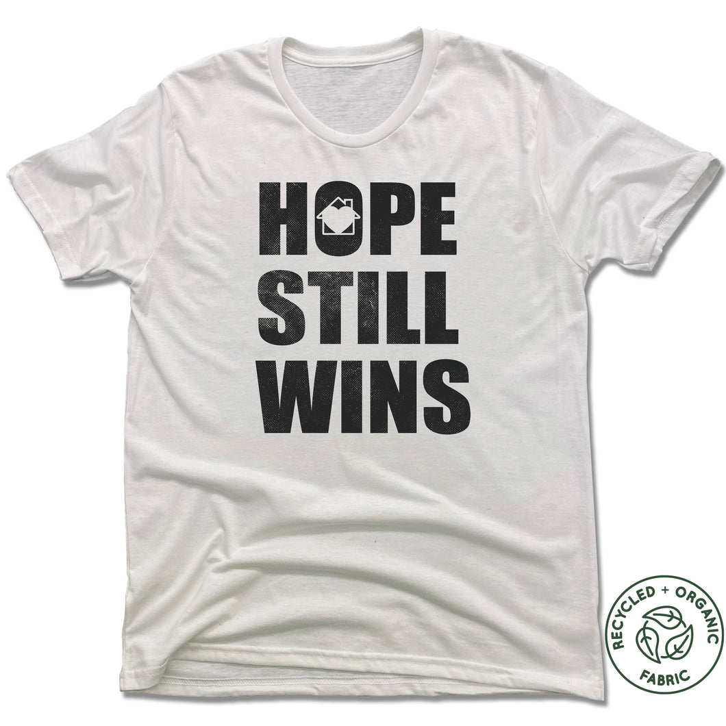 Hope Still Wins Vintage Block - White