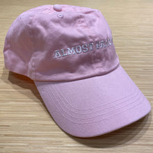 Load image into Gallery viewer, Almost Famous | EMBROIDERED Cotton Twill Pink HAT