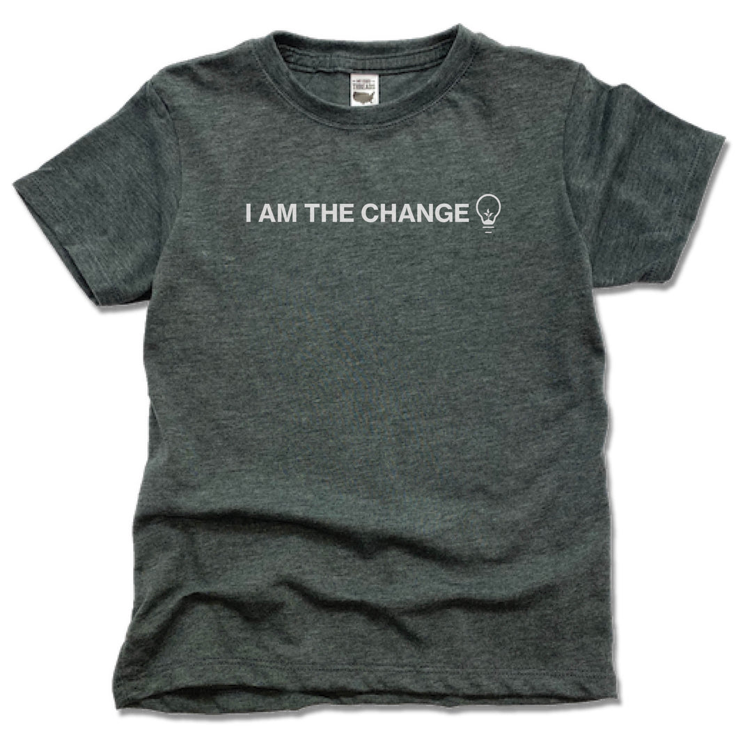 HUMANITY AND HOPE | KIDS TEE | I AM THE CHANGE BULB