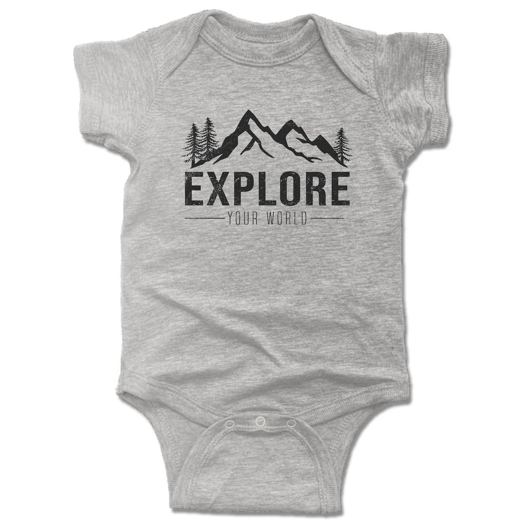 EXPLORE | GRAY ONESIE