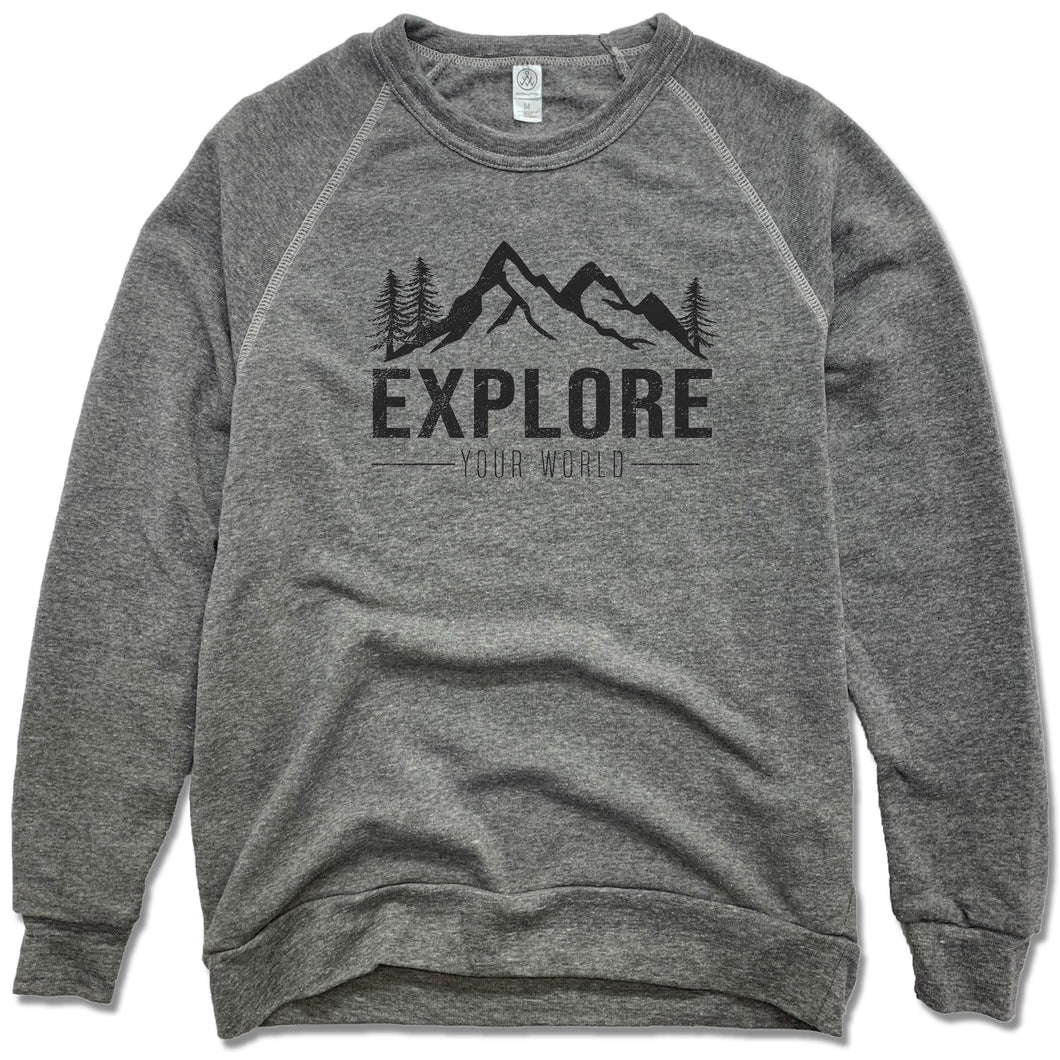 EXPLORE | FLEECE SWEATSHIRT