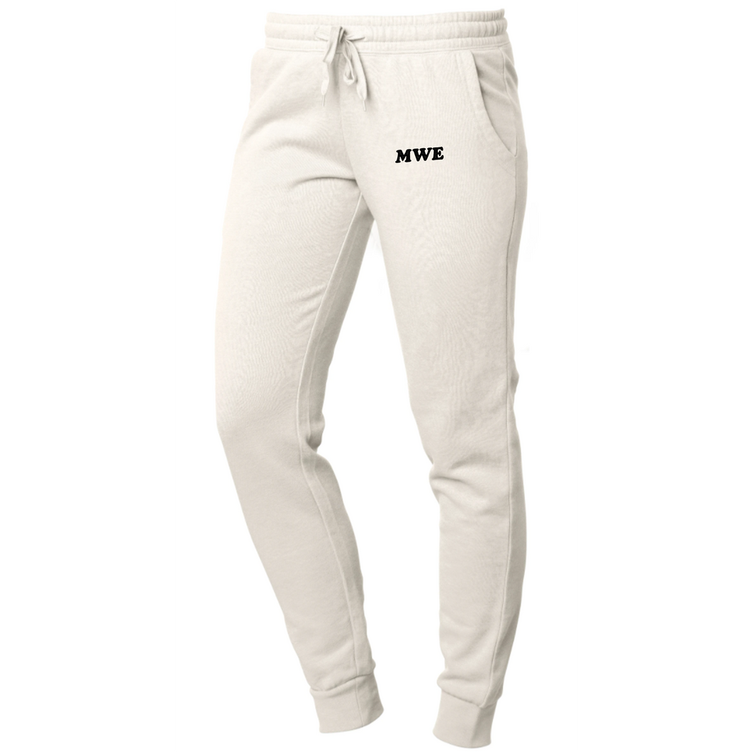 MWE Embroidered Joggers