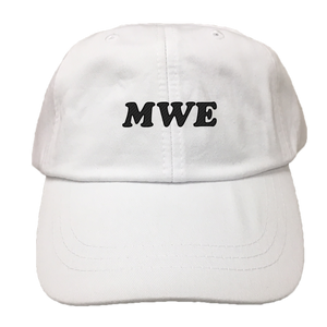 MWE EMBROIDERED Cotton Twill HAT