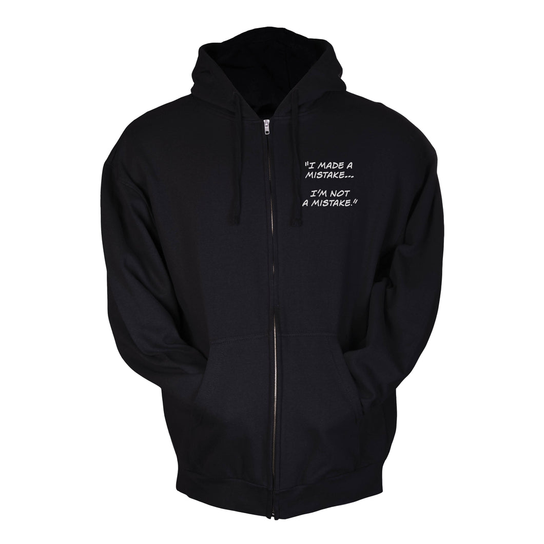 I Made a Mistake... I'm Not a Mistake | Fleece Zip Hoodie