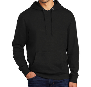 Fleece Hoodie - Black | Pretty Messed Up back print