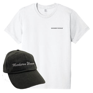 Modern Woman Combo Pack - EMBROIDERED HAT & TEE
