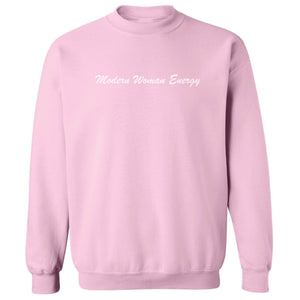 Modern Woman Energy Basic Crew Neck SWEATSHIRT