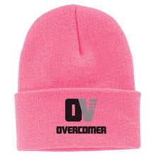 Load image into Gallery viewer, OVERCOMER | BEANIE | BLACK LOGO