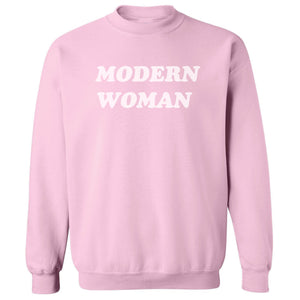 Modern Woman Basic Crew Neck SWEATSHIRT