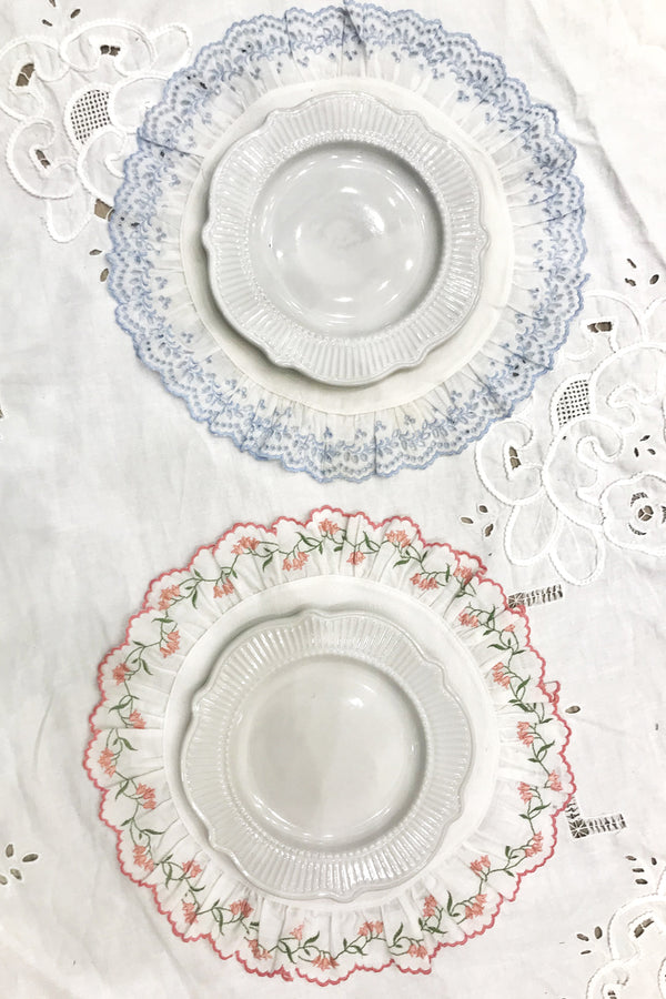THE GLYCINE PLACEMAT - JARDIN PINK
