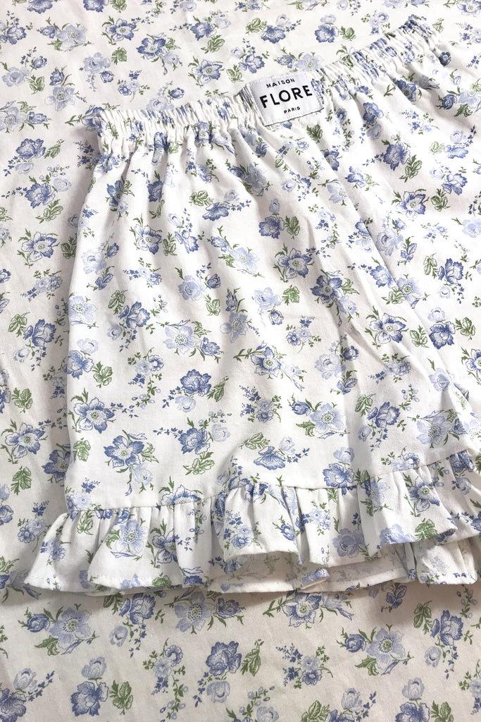 THE MYOSOTIS SHORTS - JARDIN BLUE