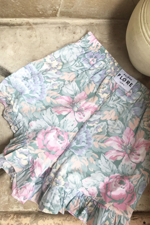 THE MYOSOTIS SHORTS - NYMPHEA PASTEL