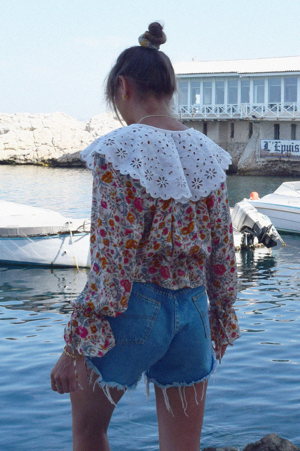 THE NARCISSE BLOUSE - INDIENNE