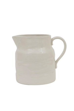 64oz stoneware vintage reproduction pitcher