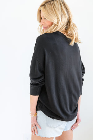 Terry Oversized Sweatshirt