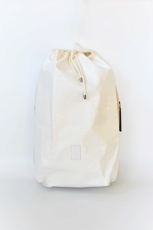 The Casselberry Backpack - Croc Embossed