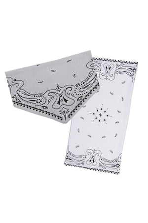 Bandana Bib and Burp Pad Set