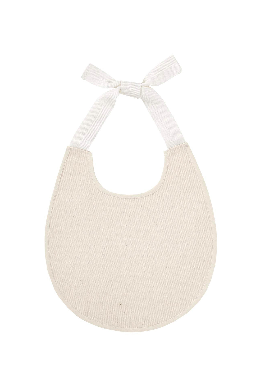 Heirloom Cream Baby Bib