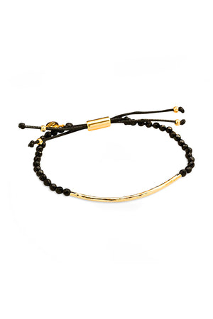 Power Gemstone Bracelet for Protection - Black Onyx