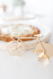 The Fixie - Gold Pizza Cutter
