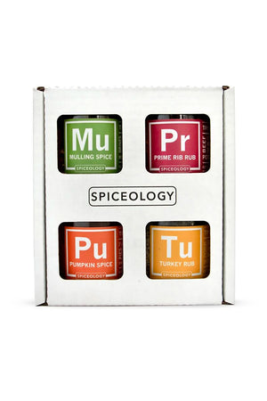 Spiceology Holiday Gift Set