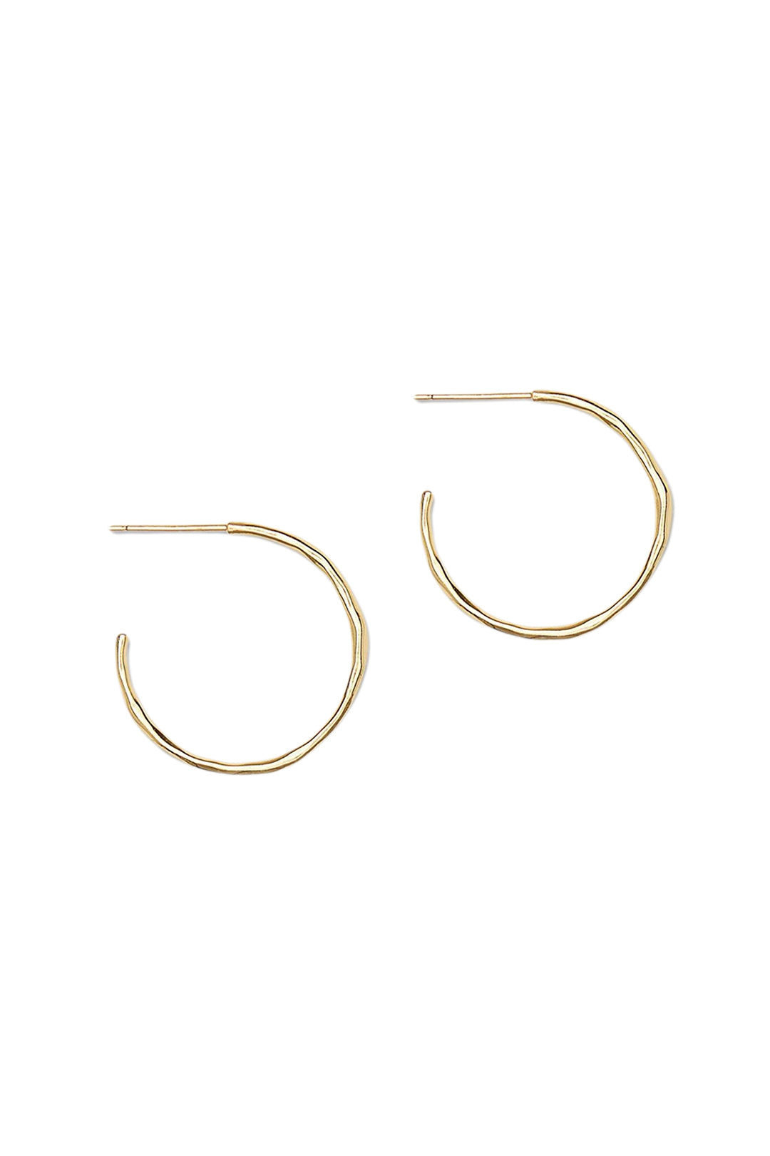 Taner Small Hoops - Gold