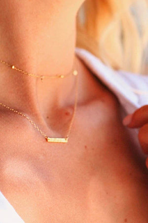 Knox Necklace - Gold