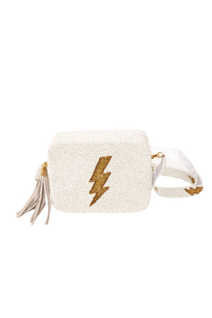 lightning bolt crossbody purse