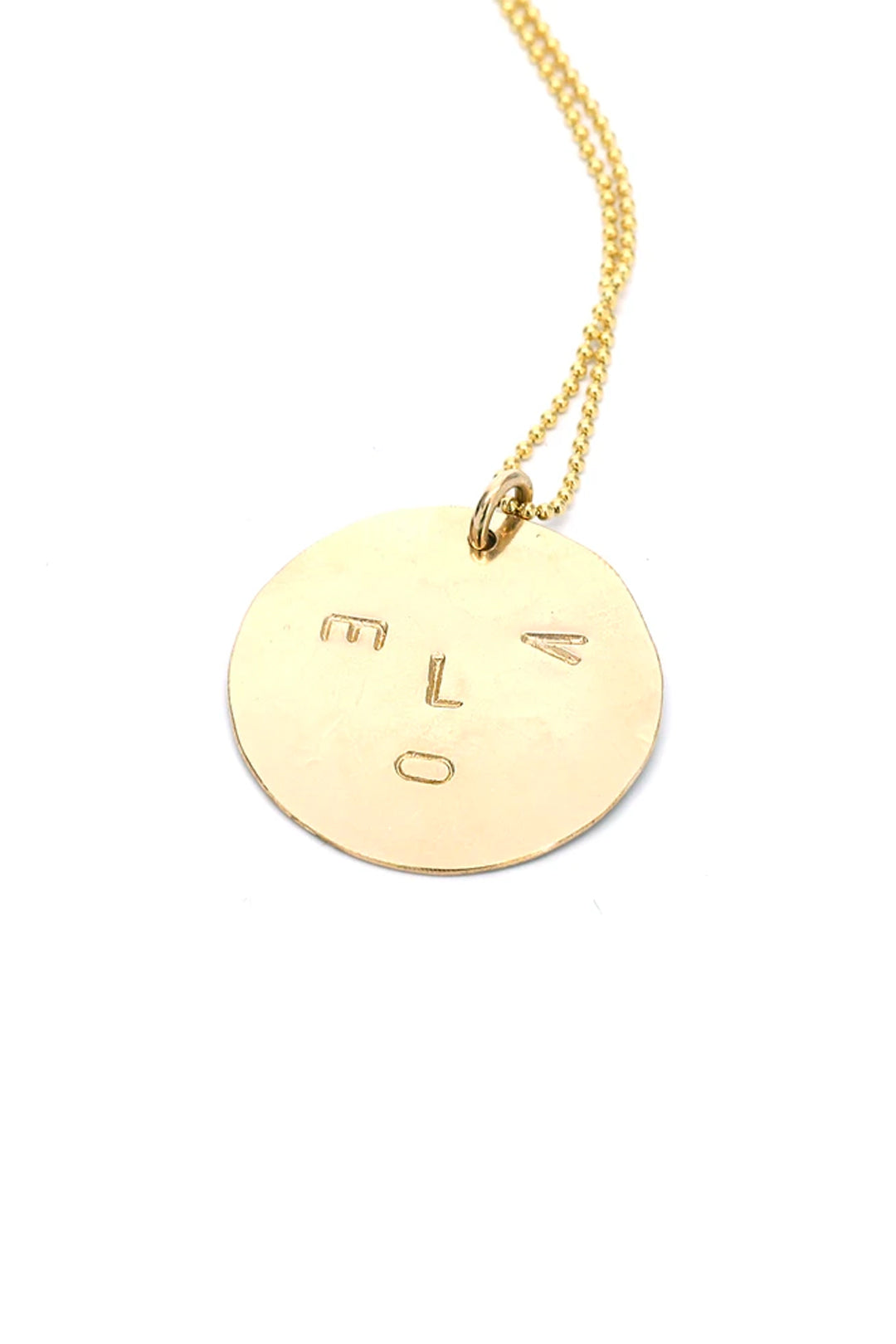 Love Face Necklace