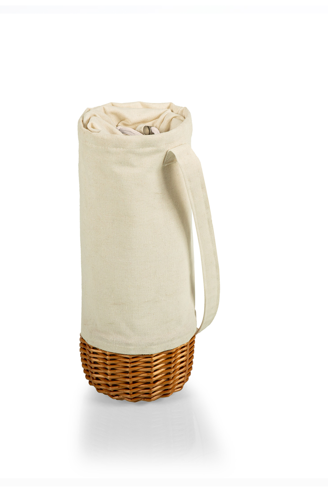 Malbec Insulated Canvas Wine Bottle Basket
