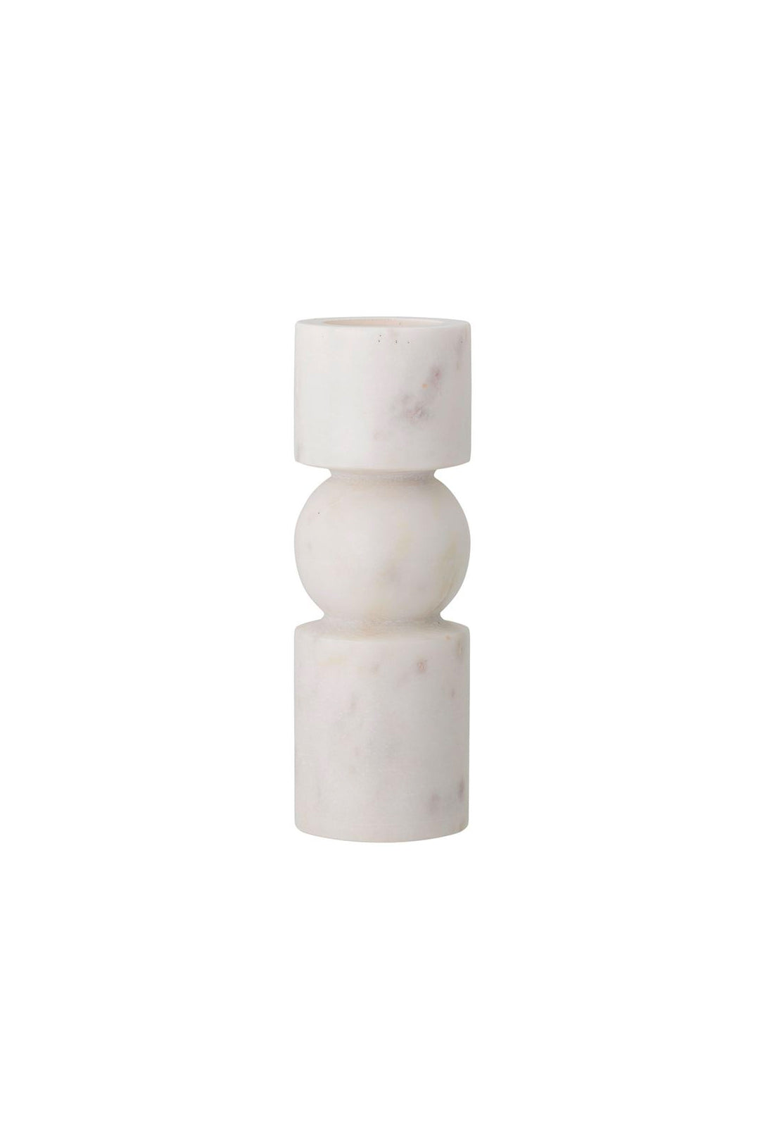 Marble Candle Holder - White